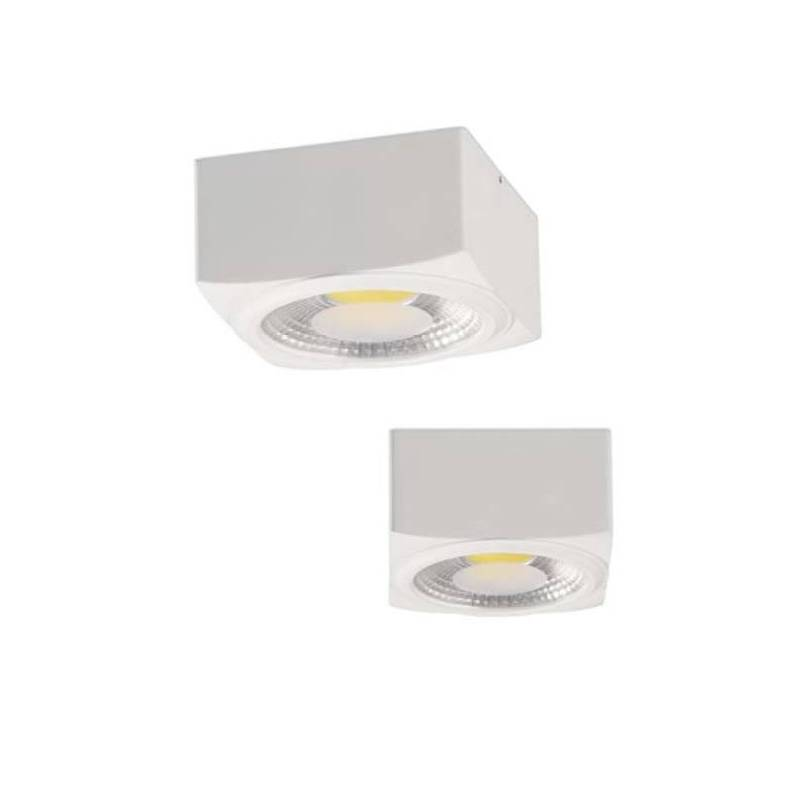 ACB Atrezzo surface light LED white aluminium