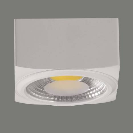 Plafon de techo Atrezzo LED aluminio blanco - ACB