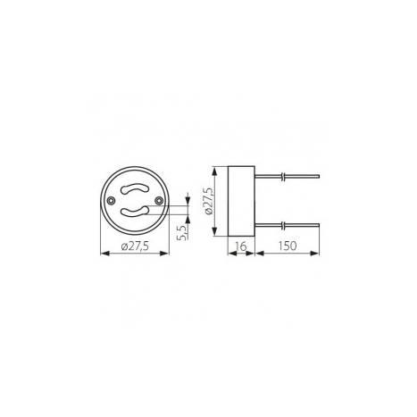 GU10 LED lamp socket holder