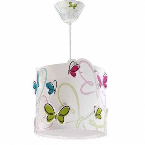 Lampara colgante Butterfly 1 luz - Dalber
