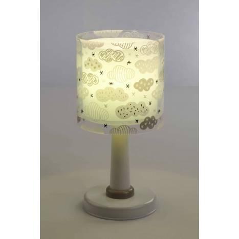 Lámpara de mesa Clouds verde 1 luz - Dalber