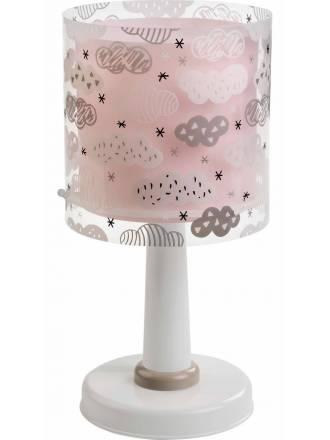 Lámpara de mesa Clouds rosa 1 luz - Dalber