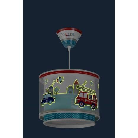 Lámpara colgante Police 1 luz - Dalber