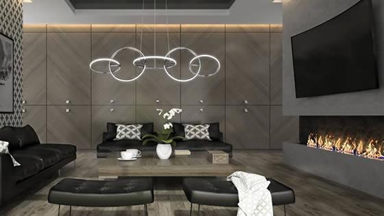 Ideas para iluminar un salon moderno