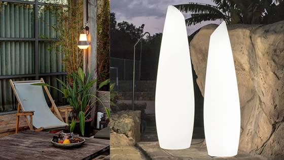 Tendencias iluminacion jardin