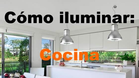 Como iluminar la cocina
