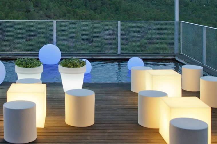 Illuminated furniture