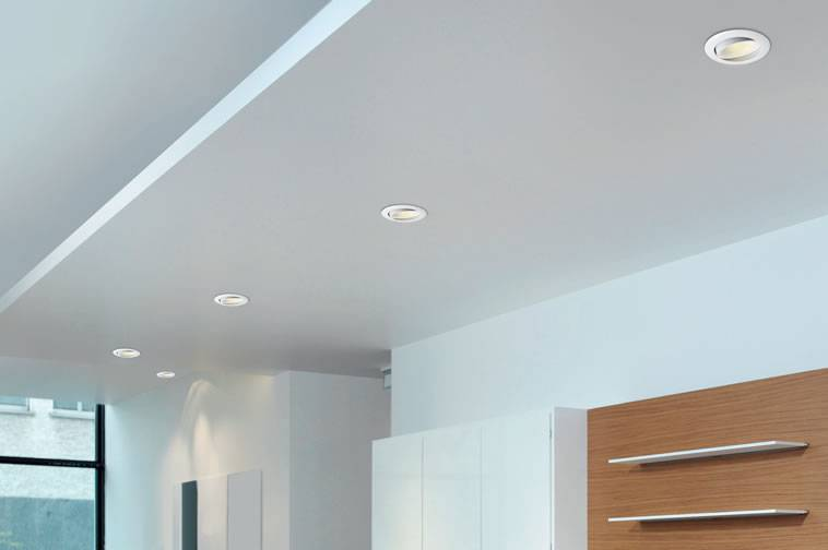 GU10 recessed lights