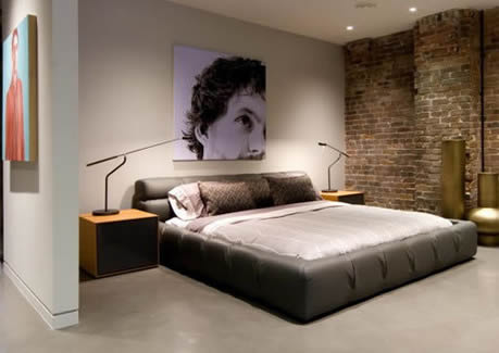Iluminacion de habitacion moderna