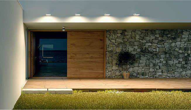 Proyector exterior LED fachada Beneito Faure