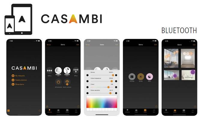 Regulacion LED App Bluetooth Casambi