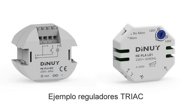 Tipos de reguladores TRIAC