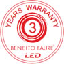 Garantia LED Beneito Faure