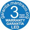 Mantra LED warranty
