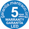 Mantra LED warranty