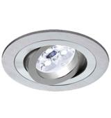 Offer round recessed LED light 6w aluminium